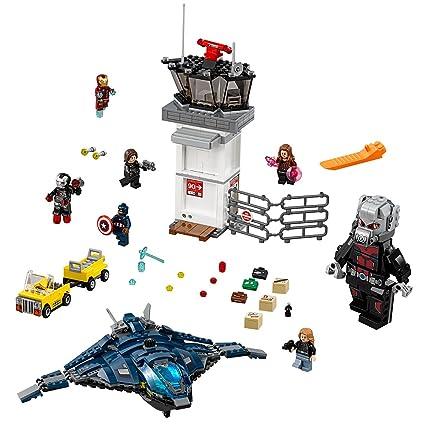 Amazoncom Lego Super Heroes Super Hero Airport Battle 76051 Toys