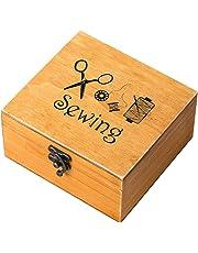 rosenice caja de costura de madera forniture para accesorios para coser Kit de reparación para coser