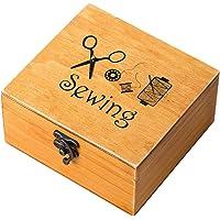 Rosenice - Costurero de madera, diseño vintage