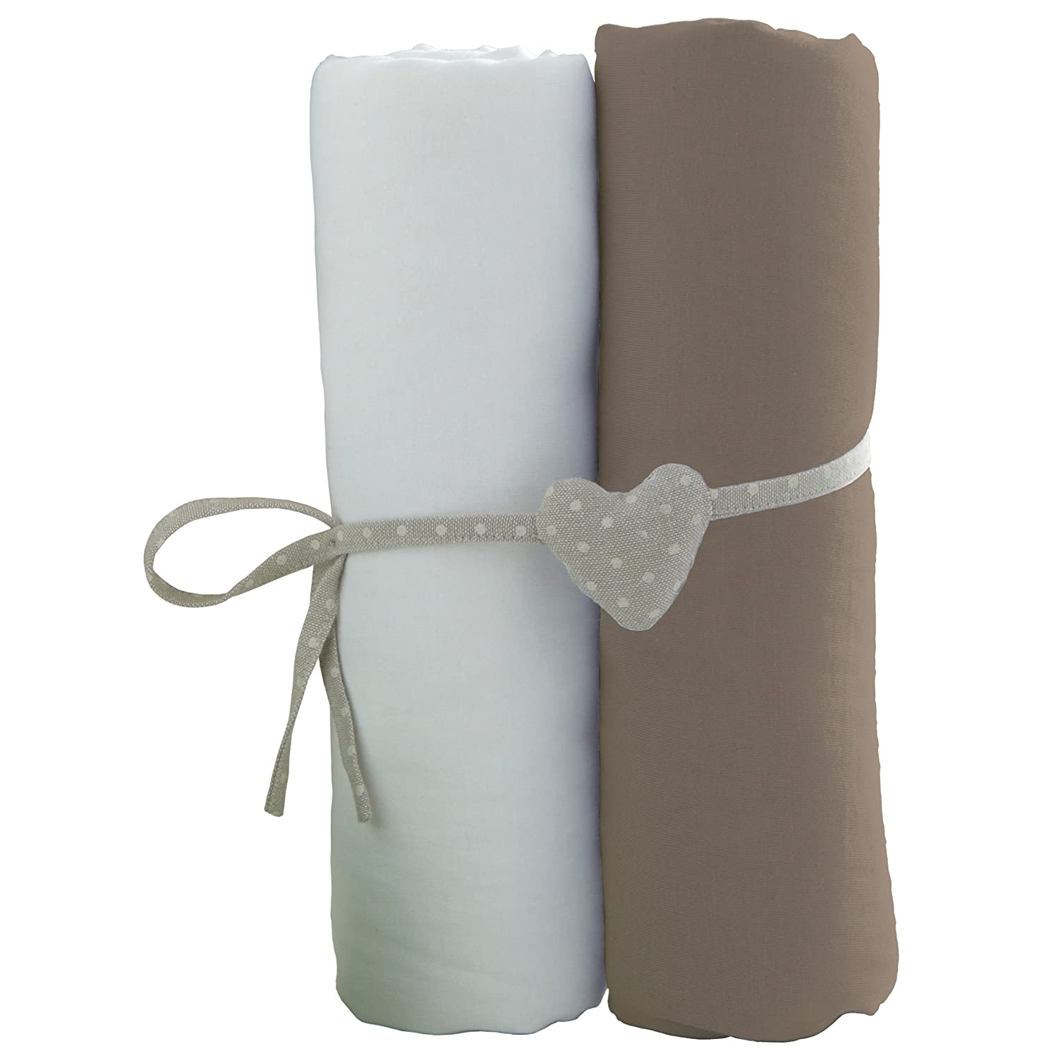 Babycalin Fitted Sheets Set of 2