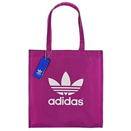 36bcc521b5 adidas Originals AC Trefoil Shopping Bag in Red - One Size  adidas ...