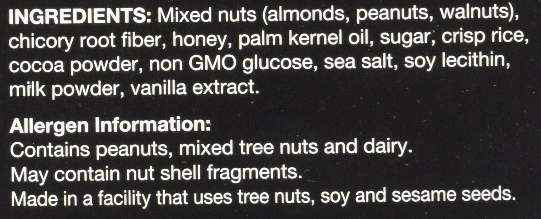 KIND Bars, Dark Chocolate Nuts & Sea Salt, Gluten Free, Low Sugar, 1.4oz, 48 Count by KIND (Image #2)