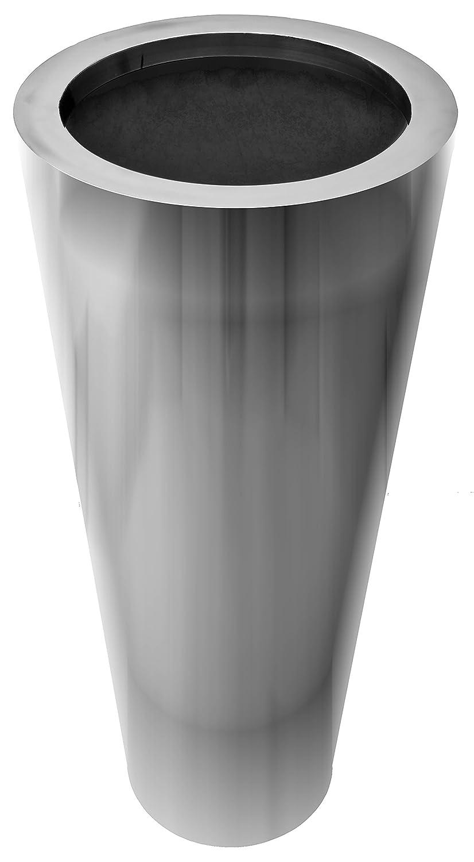 Bella Casa Blumenvase Vaso Tondo Rund 20 30 X 70 Cm Gross Silber