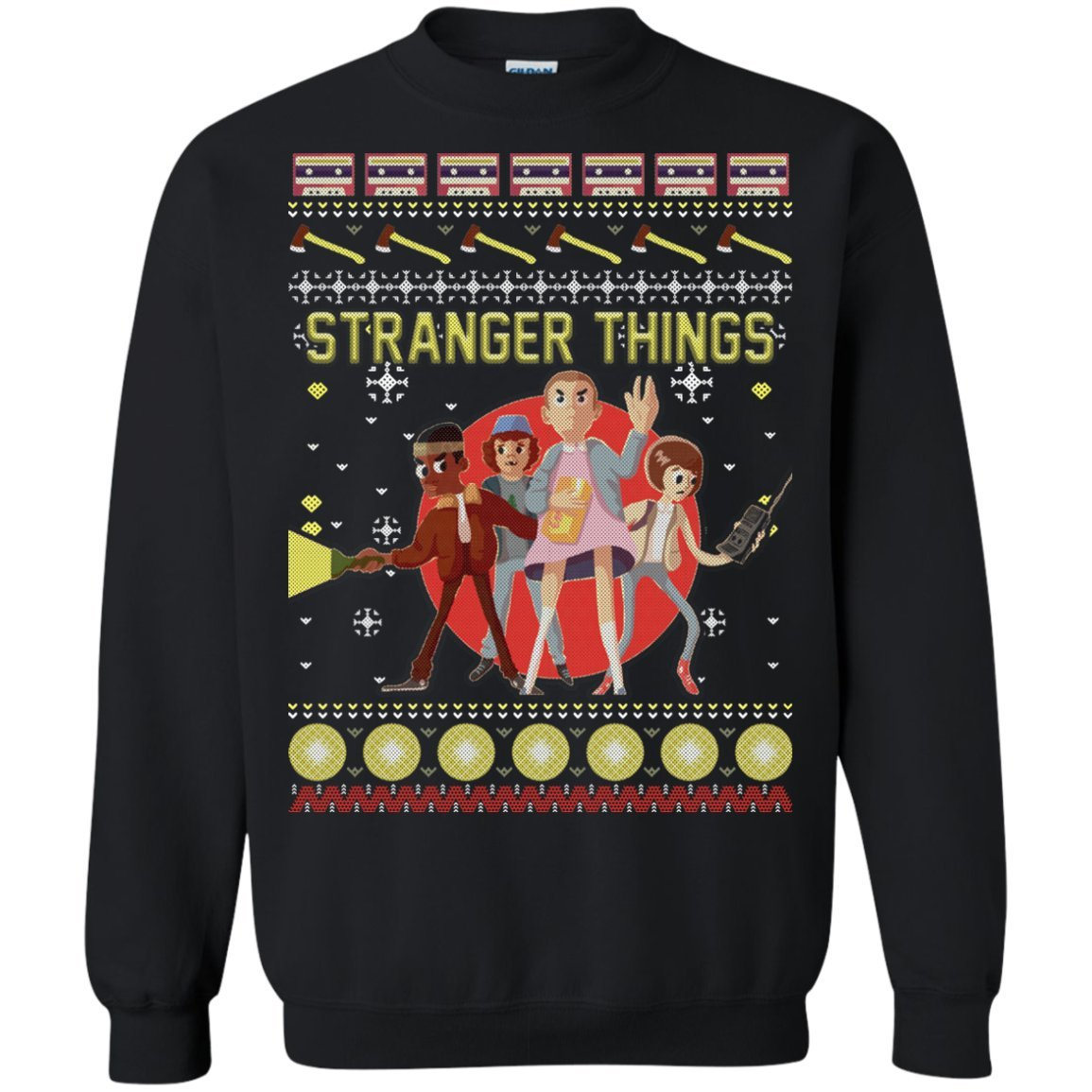 Stranger Ugly Christmas Sweater Funny Stranger Things | Amazon.com