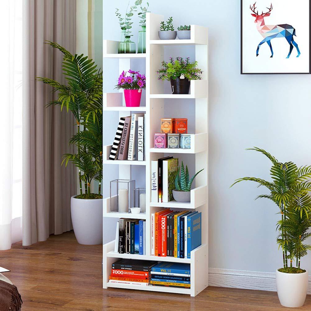 N 47x22x149cm(19x9x59) Bookshelf,Creative Floor Bookcases,Modern Simple Small Bookcase,Simple Bookcase,Multi-Purpose Student Bookshelf-D 47x22x92cm(19x9x36)
