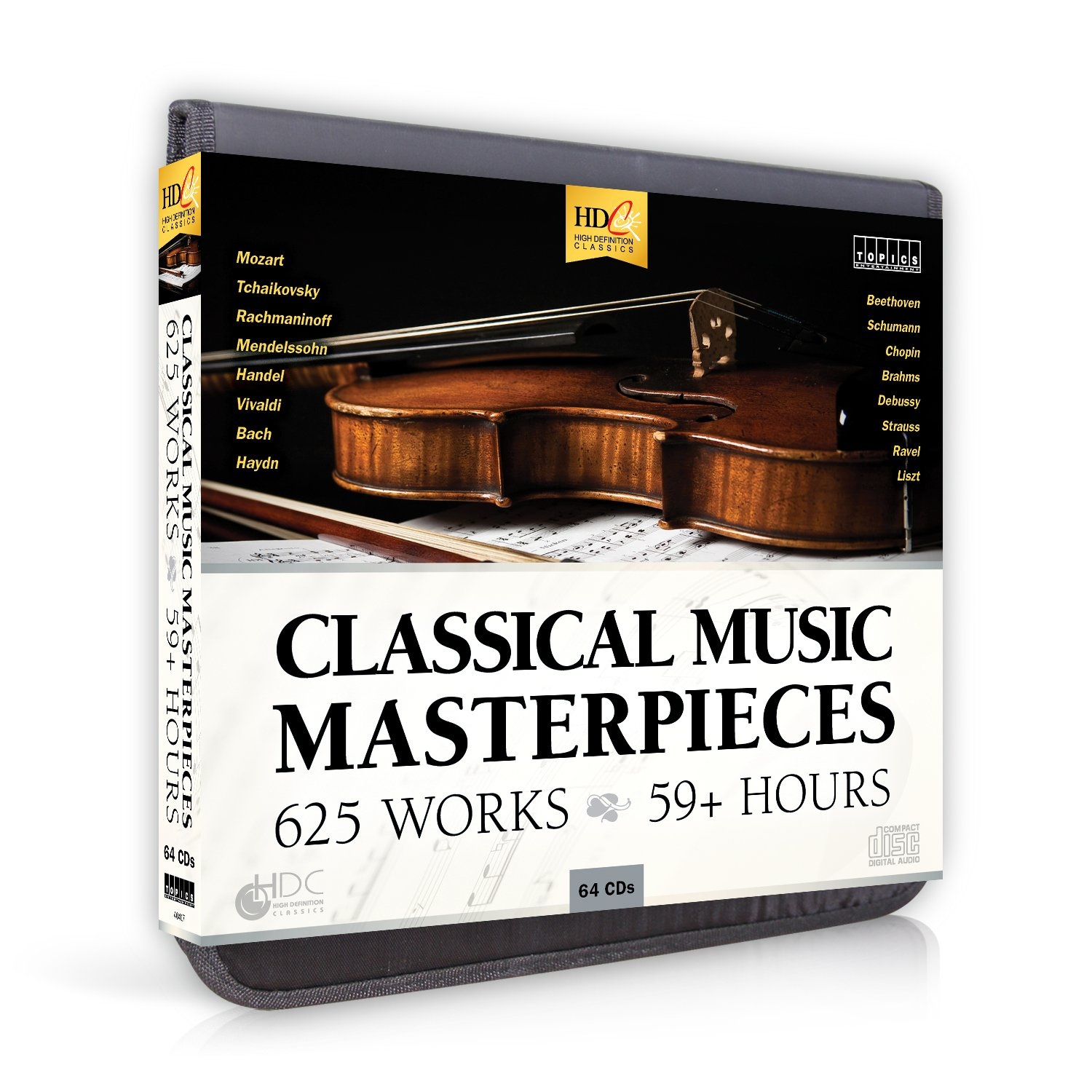 Classical Music Masterpieces - Beethoven Mozart Medelssohm