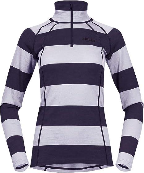 Bergans fjellrapp t-Shirt /à Manches Longues pour Femme
