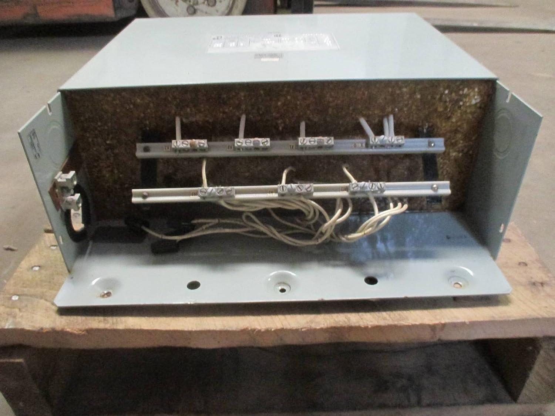 Hammond 6 kVA 480 Delta - 380Y/219 Dry Type 3PH Transformer ... on