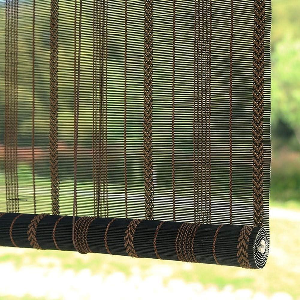 LXLA Sombra de Rodillo Exterior Negra, Persianas Enrollables para Exteriores/Porche/Patio, con Privacidad de Protección Solar, para La Pérgola de Gazebo de Patio Trasero de Cubierta: Amazon.es: Hogar