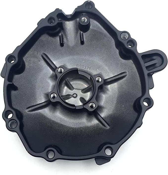 Left Engine Stator Crankcase Cover for 2006-2007 Honda CBR1000RR Aluminum Black