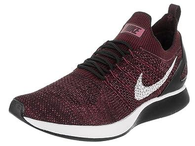 8d3d3121f463 Nike Men s Air Zoom Mariah Flyknit Racer Deep Burgundy Pure Platinum  Running Shoe 10.5 Men