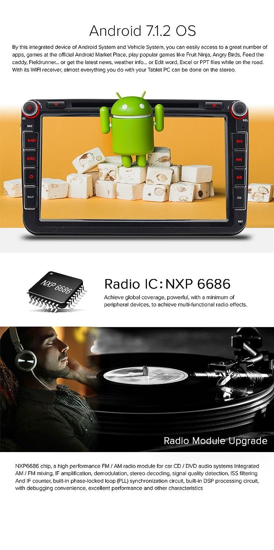 Iauch 7 pulgadas HD de pantalla táctil WinCE 6.0 coche ...
