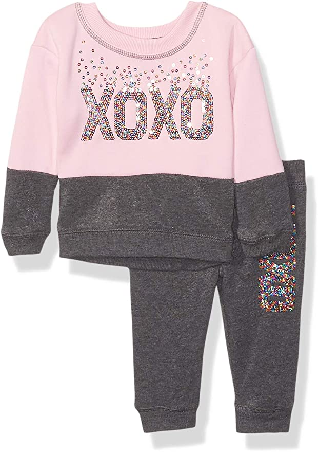 XOXO Girls Fleece Jogger Pant