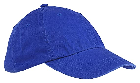 9686b033d41062 Amazon.com: Big Accessories Youth 6-Panel Washed Twill Low-Profile Cap,  BLACK, One Size: Sports & Outdoors