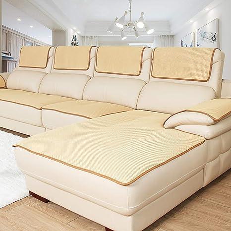 Lu Anti-Deslizante Sofá Cubierta de sofá Silla Tirar Perro ...