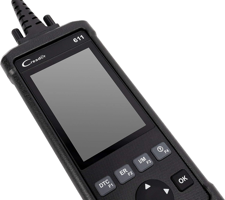 protocolo de comunicaci/ón OBD2//EOBD//CAN LAUNCH LAUNCR401 Equipo de Diagnosis para autom/óviles de Nivel b/ásico CR401/ 9-18 V
