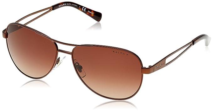 RALPH Ralph Damen Sonnenbrille » RA4115«, grau, 310211 - grau/grau