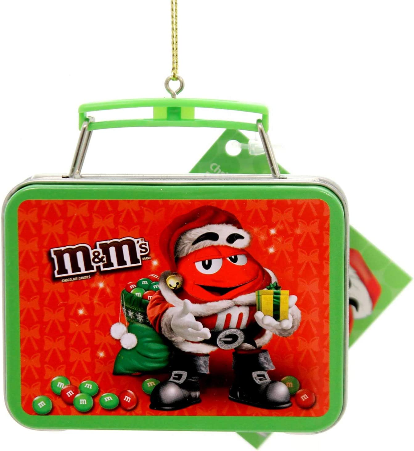 Kurt Adler M&M Lunchbox Ornament