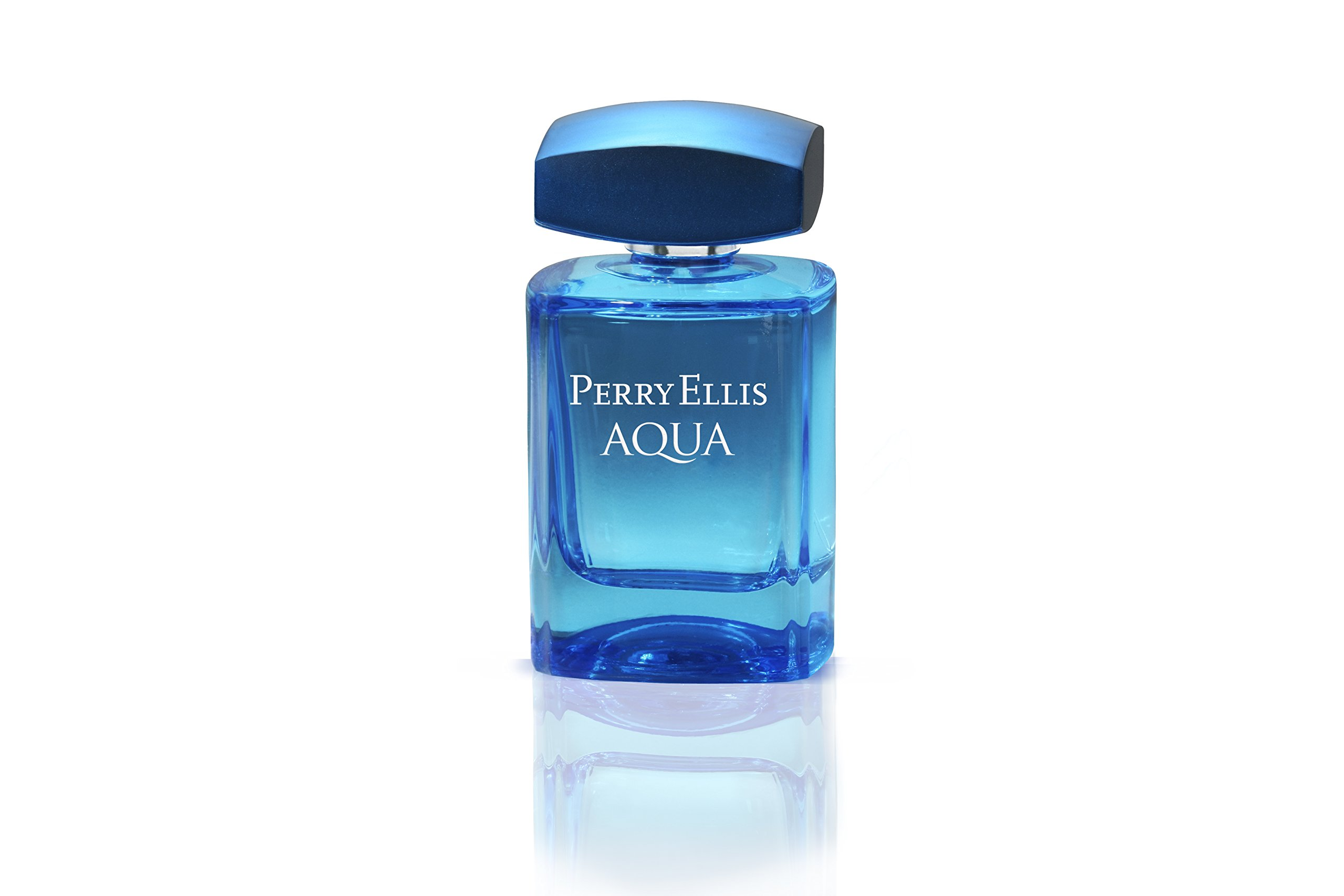 Perry Ellis Aqua Eau de Toilette Spray for Men, 3.4 Ounce