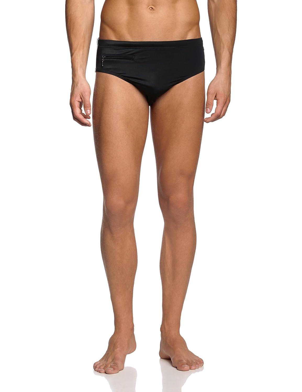 Schiesser Men's Swimming Trunks Zipper Pocket from