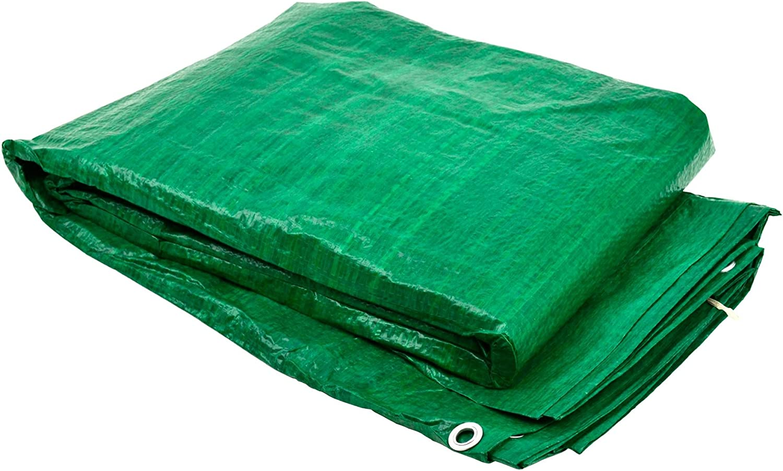 Tarpaulin Heavy Duty Waterproof Strong Blue Cover Ground Sheet Tarp 75GSM MULTI