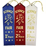 Amazon.com: 1st, 2nd, 3rd Place Rosette Award Ribbons Set ...