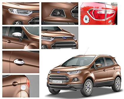 Auto Pearl Chrome Plated Premium Quality Accessories For Ford Ecosport Set Of