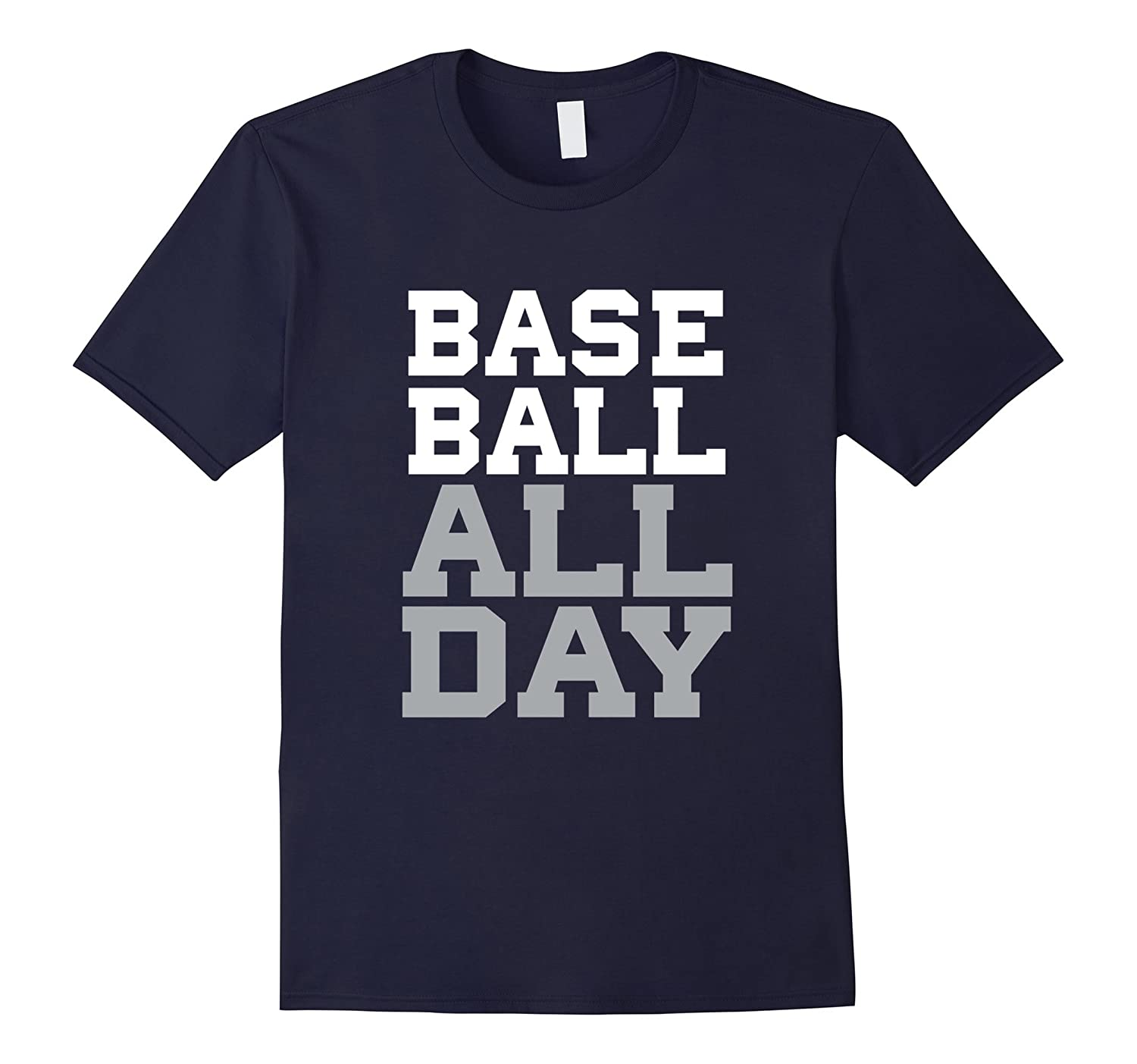 Baseball All Day - Ball Player - Baseball Shirt-TD
