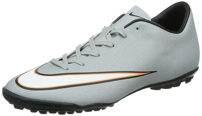 Nike Mercurial Victory V CR TF Turf Soccer Cleats, Plateado Metalizado, 40.5 D(M) EU/6.5 D(M) UK: Amazon.es: Zapatos y complementos