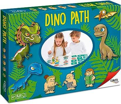 Cayro - Dino Path - Juego de mesa infantil y primaria - juego de ...