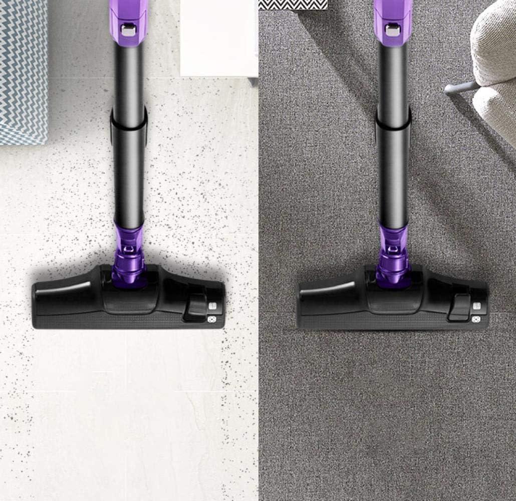 LIUCHANG Ultra Silenzioso Super Mini Rod aspirapolvere Portatile collettore di polveri casa Aspiratore aspirapolvere tenuto in Mano liuchang20 (Color : Red) Brown