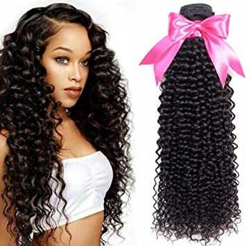Hair Extensions & Wigs Ms Love 613 Blonde Kinky Curly Hair Weave 3 Bundle Deals Malaysian Curly Hair Remy Human Hair Extensions Hair Weaves