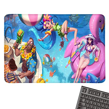 Amazon.com : Pool Desk Pads Party Gaming Mouse Pad Custom ...