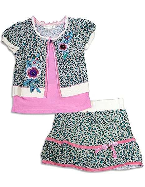5fa204b8ec58 Amazon.com: Baby Sara by Sara Sara - Little Girls Skirt Set: Clothing