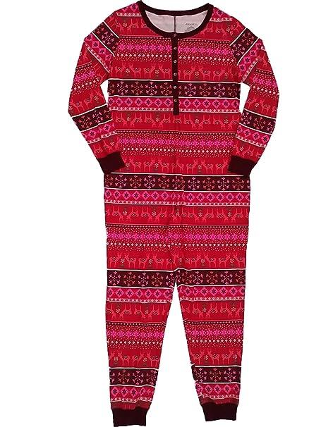Amazon.com: Traje de Navidad nórdico para mujer, color rojo ...
