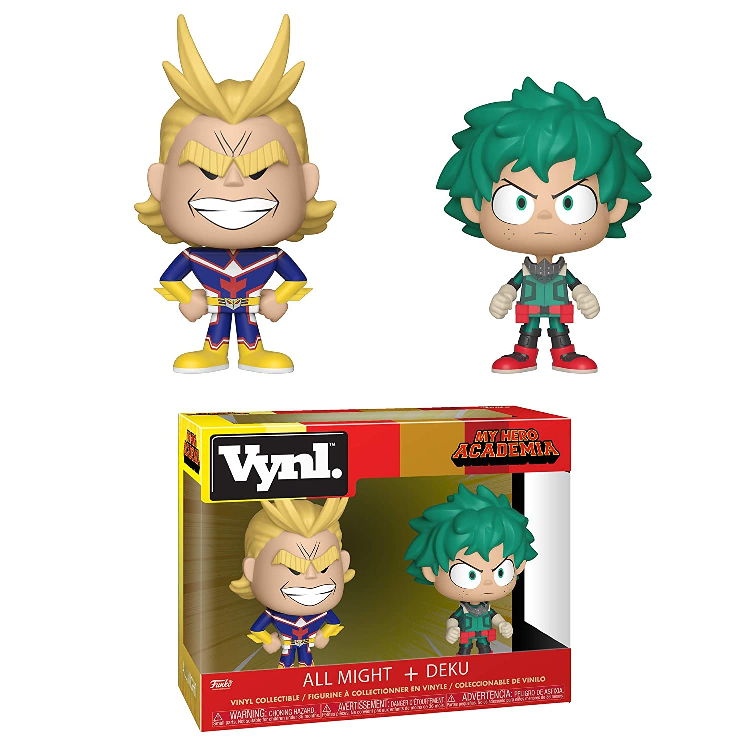 0debfe7dbef Amazon.com  Funko Vynl  My Hero Academia - All Might   Deku 2 Pack ...