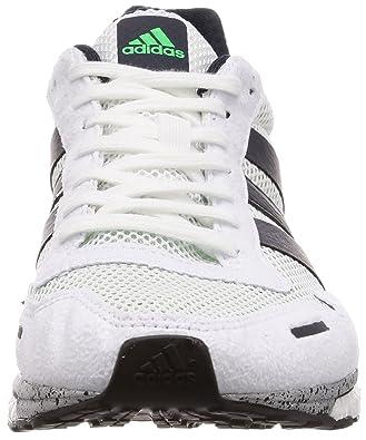 more photos 487d5 77ab3 Amazon.com   adidas Adizero Adios 3 Boost Mens Running Shoes - White-10    Running