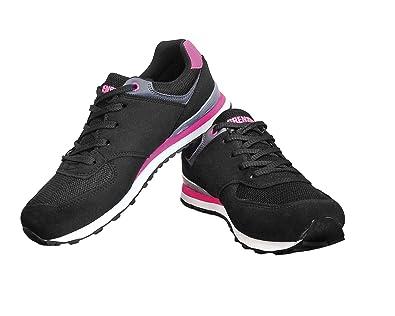 58c57efdbdf206 Grensho Sportschuhe BSLADY Freizeitschuhe Schuhe Gr. 36 knöchelhohe  Damenschuhe geschnürt Atmungsaktives Mesh-Material schwarz