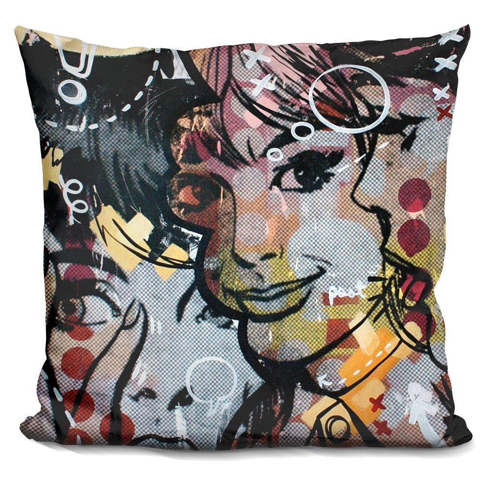 LiLiPi Surprise Decorative Accent Throw Pillow