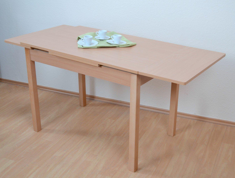 Auszugtisch L. 104-164cm Buche Esstisch Esszimmertisch Tisch Küchentisch ausziehbar