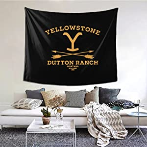 Yellowstone Dutton Ranch Tapestry Wall Hanging Art Landscape Tapestry For Room Home Decor 60*51inch