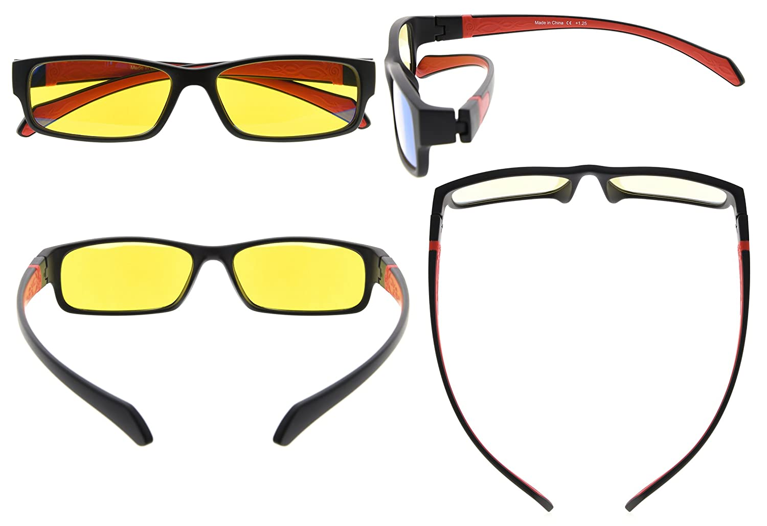 Eyekepper Vintage Computer Reading Glasses Readers-Anti-Reflective,Anti-Glare,Clear Lens,Uv Protection Men Women