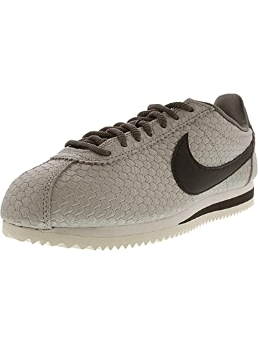 half off 9ea8f 8e26c Amazon.com | Nike Women's Classic Cortez Se Metallic Pewter ...