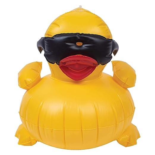 Juego 5001 hinchable Derby Duck piscina juguete: Amazon.es ...