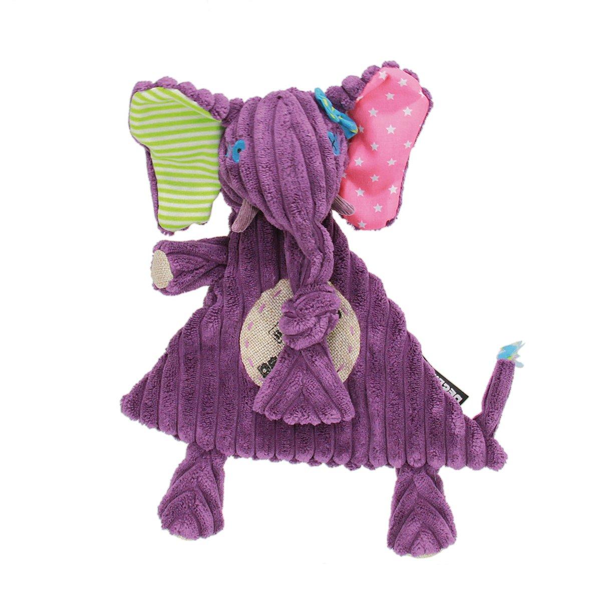 Déglingos- Sandykilos La Elefanta Animales Baby mantita, (36716)