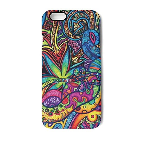 Psychedelic Trippy Motif iphone case