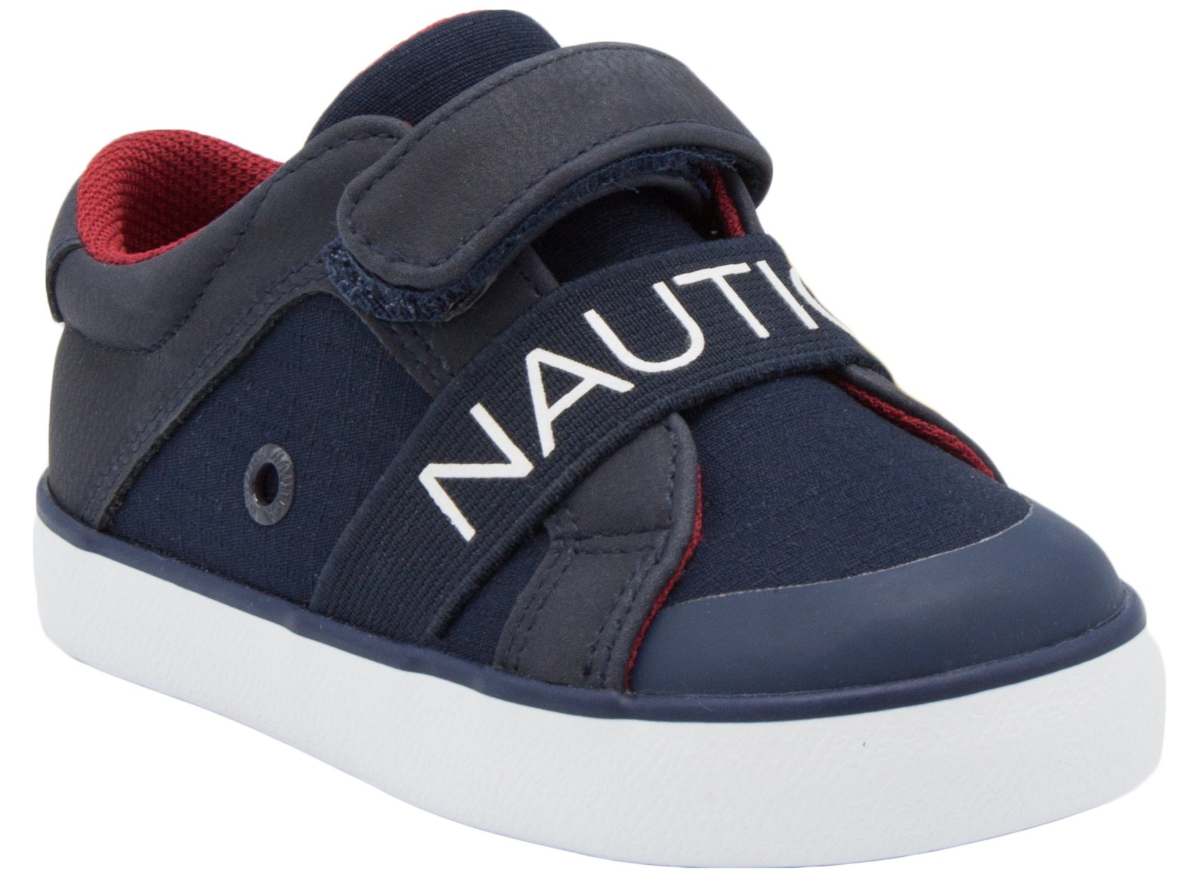 Nautica Outhaul Toddler Sneakers Velcro Athletic Fashion Shoes-Navy-5