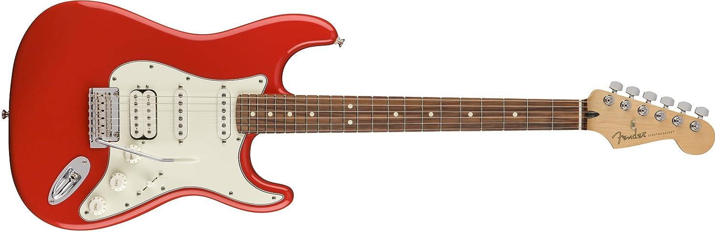 Fender ソニックレッド Fender エレキギター Player Stratocaster® Pau HSS, Pau Ferro Fingerboard, Sonic Red ソニックレッド B07CTV8675, オオムタシ:fed6717c --- mens-belt.xyz