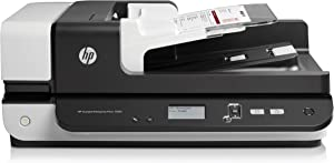 HP ScanJet Enterprise Flow 7500 Flatbed OCR Scanner (L2725B#BGJ) (Renewed)