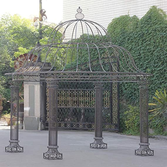 CLP redonda de jardín de Carpa Palais De Hierro Estable, diseño ...